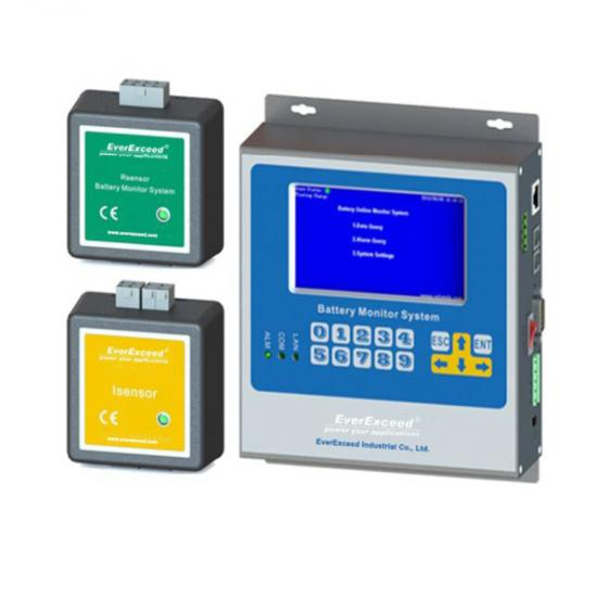 Battery monitoring system, Online Battery monitoring module